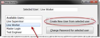 create new user